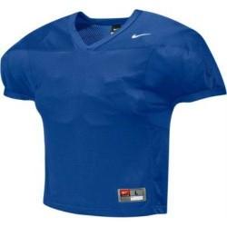 Maillot d'entrainement de football américain nike velocity 2.0 practice Rouge bordeaux Bleu