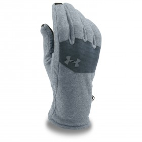 Gant Under Armour Survivor Fleece gris clair pour homme