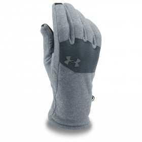 Under Armour Survivor Fleece glove gris claro para hombre
