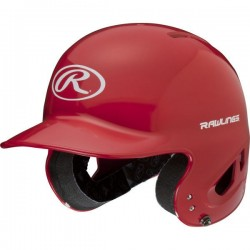 Casque de Baseball Rawlings CoolFlo Rouge