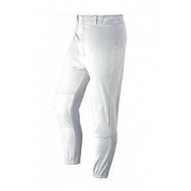 Pantalon de Baseball/Sofball Wilson Poly warp knit Inseam blanc pour adulte