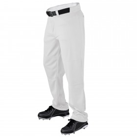 Pantalon de Baseball/Sofball Wilson P200 coupe large gris pour Junior