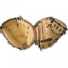 """Gant de Catcher Baseball Wilson A2000 Crème 33"""""""