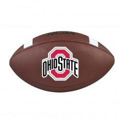 Ballon de Football Américain Wilson NCAA Composite  Ohio Team
