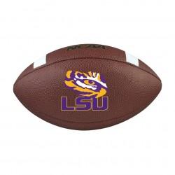 Ballon de Football Américain Wilson NCAA Composite LSU Team