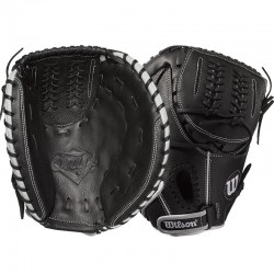 Gant de Catcher Baseball Wilson Onyx Black FP 33""