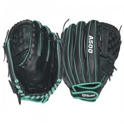 Gant de Softball Wilson A500 Siren 12' fastpitch pour gaucher
