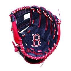 "Gant de Baseball Wilson A200 pour enfant 10"" LHC droitier Boston Red Sox"