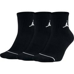 Chaussettes Jordan quarter noir 3 paires