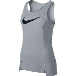 Nike Débardeur de Basket Dry Elite Gris pour Femme