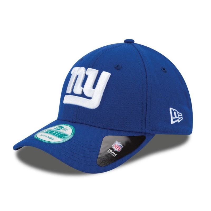 609454742b344 Casquette NFL New York Giants New Era The League 9FORTY Ajustable bleu