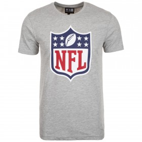 T-shirt NFL New Era Team Logo Gris pour homme