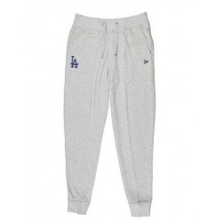 Pantalon MLB Los Angeles Dodgers New Era Nos Track Pant gris pour homme