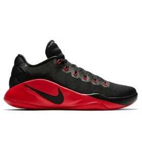 Chaussure de Basketball Nike Hyperdunk Low 2016 Noir rouge pour homme