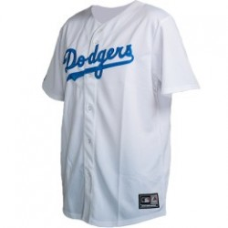 Majestic Replica Maillot Baseball Retro Los Angles Dodgers Blanc