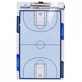 Planche tactique Basketball Coach 2 faces SPALDING