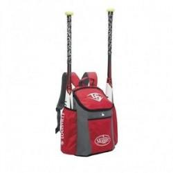 Sac à dos de Baseball Louisville Slugger EB Series 3 Stick pack Rouge