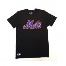 T-shirt MLB New York Mets New Era Team App Classic noir pour homme