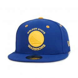 Casquette NBA Golden State Warriors New Era Rubber Logo 59fifty
